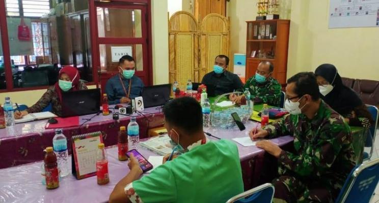 Rapat dengan AGD 118 Pusat